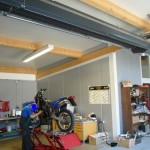 Hallenheizung, Dunkelstrahler, Werkstatt 129